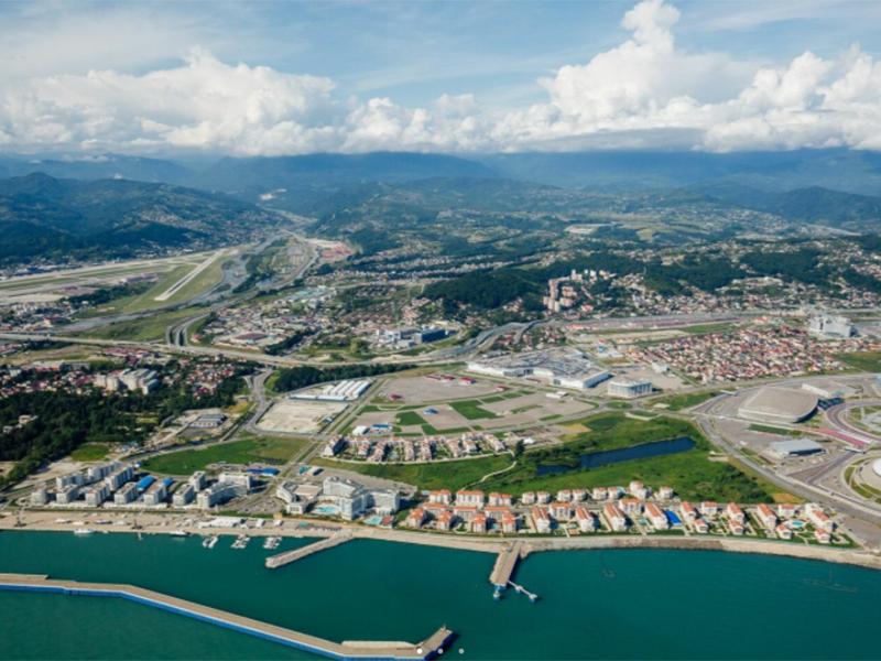 Imeretinskiy Port from above