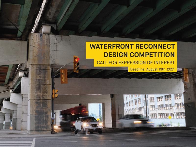 View underneath the Gardiner Expressway