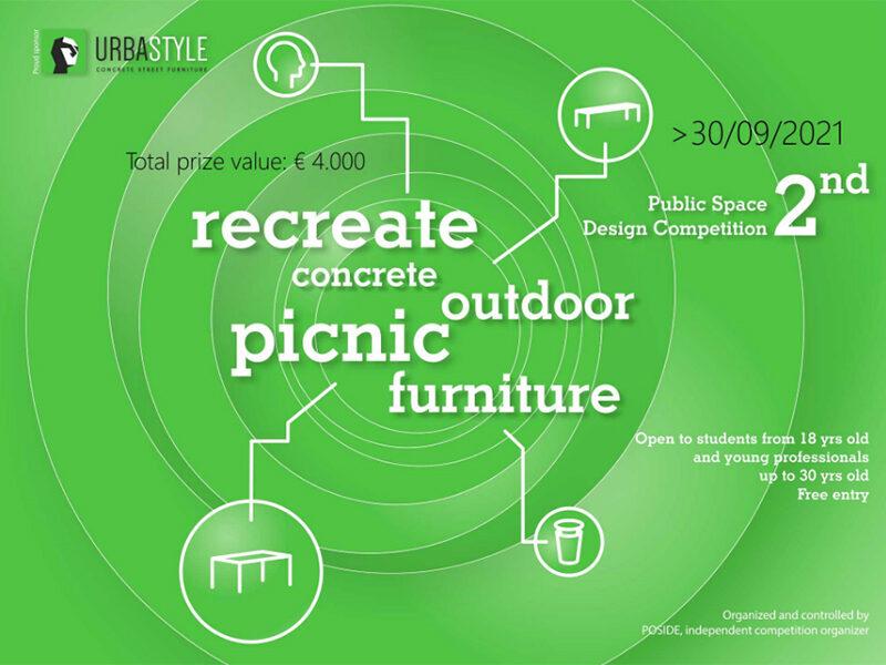 Recreate Concrete Outdoor Picnic Furniture