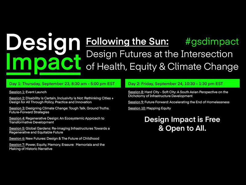 Design Impact – Following the Sun: Design Futures at the Intersection of Health, Equity and Climate Change