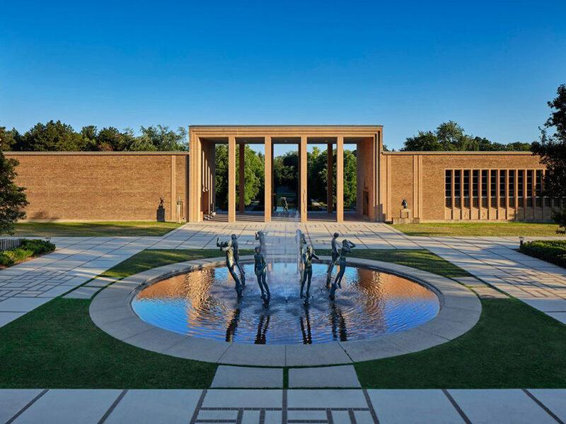 Eliel Saarinen, Cranbrook Art Museum and Academy of Art Library, Cranbrook Educational Community, Bloomfield Hills, Michigan, 1942