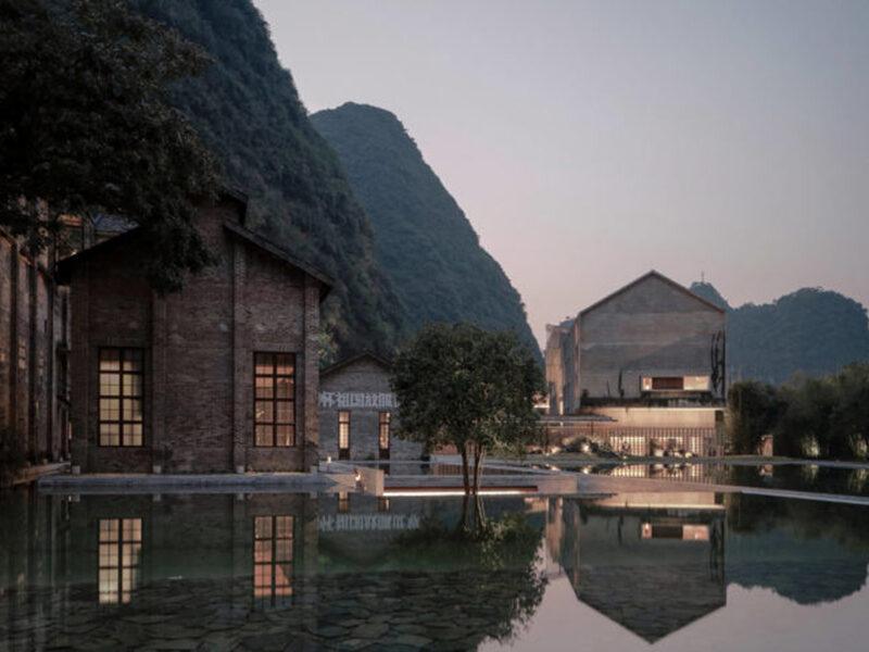 Vector Architects, Alila Yangshuo Hotel, Yangshuo, Guilin, Guangxi, China, 2013–2017. Photograph by Shengliang Su