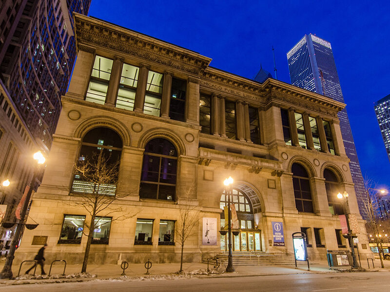 Exterior view of Chicago Architectural Center