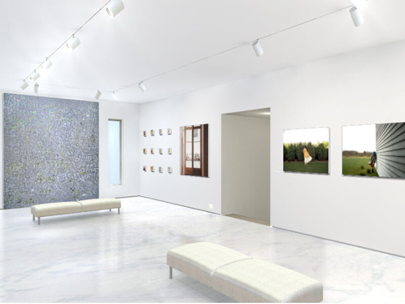 View inside the Zeitgeist exhibit
