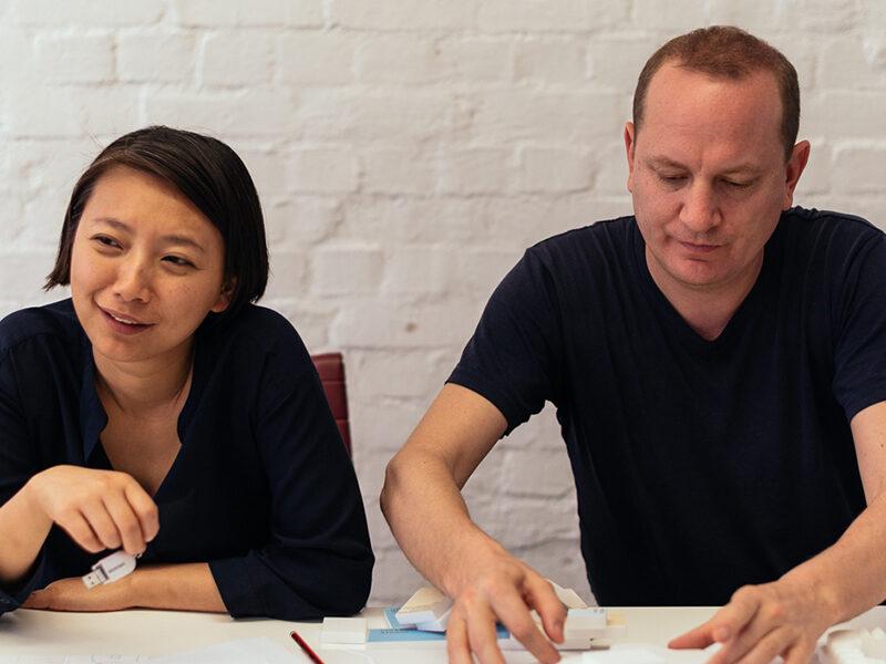 Florian Idenburg and Jing Liu