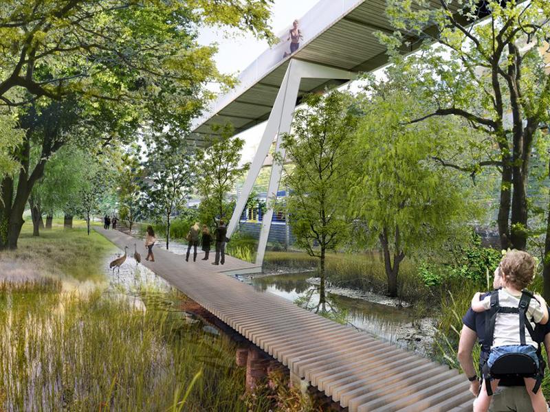 Parco Romana, Mailand; Ökosystem: Waldgebiet