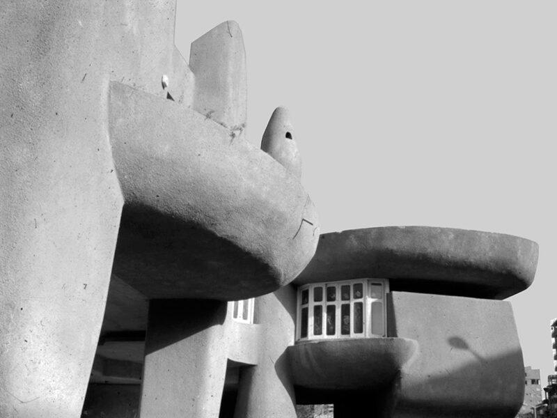 Villa Badran by Gamal Bakry, 1971.