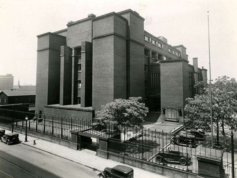 Exterior of Larkin Administration Building